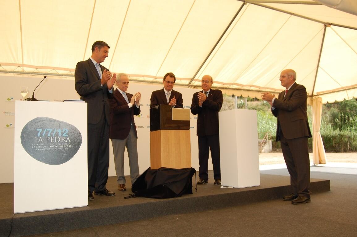 Acte primera pedra Institut de Recerca Josep Carreras.JPG