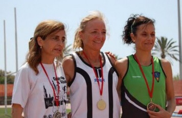 Silvia podium 100mll Miting Veterans.jpg