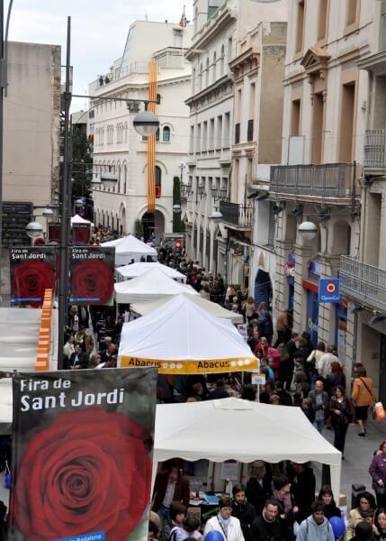 Sant Jordi a Badalona 2012.JPG