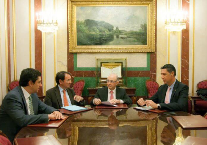 Alcalde reunió amb ministre Cristobal Montoro.jpg