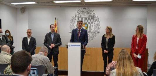 Xavier Garcia Albiol es presentarà a les eleccions municipals del 2023